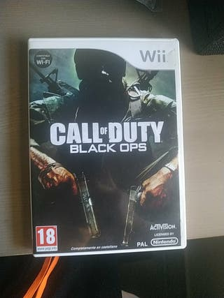 call of duty black ops 1 wii