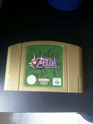 The Leyend of Zelda; Majora's Mask. Nintendo 64.