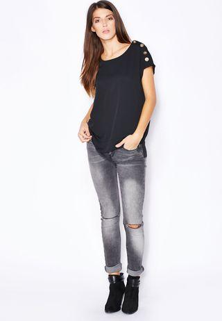Camisa blusa Mango talla M.