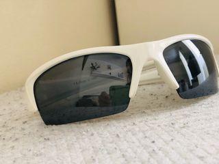 "Gafas ""Evaney"" blancas polarizadas en gris negro."