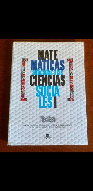 Matematicas 1° Bachillerato Editex