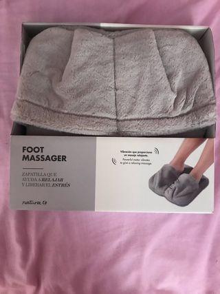 Calentador y masajeador de pies