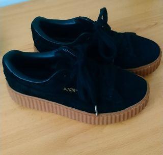 Zapatillas de chica marca Puma