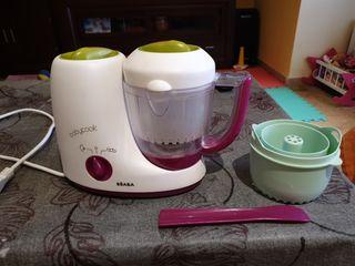 robot cocina vapor bebe