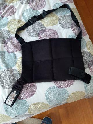 Adaptador de cinturón para embarazadas.