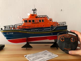 Barco salvamento radiocontrol