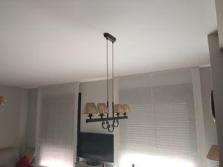 Lámpara de Salón 4 Focos