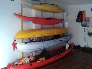 Plaza para kayak