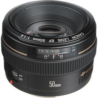 Canon EF 50mm f/1.4 USM (NUEVOS)