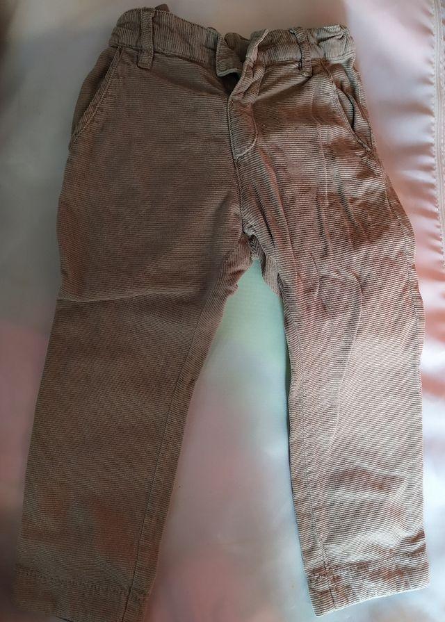 Pantalón pana 18-24m