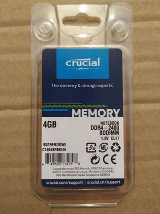 Crucial CT4G4SFS824A Memoria RAM de 4 GB