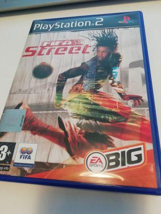 Videojuego PS2- Fifa Street