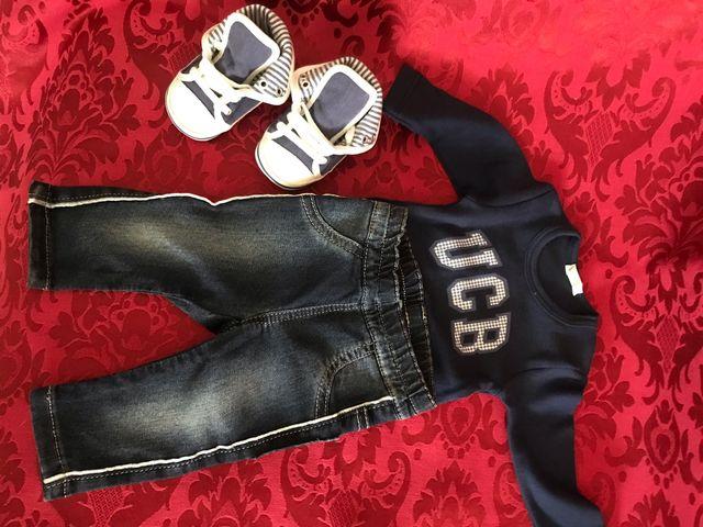 Conjunto ropa Sport/vaquera bebé