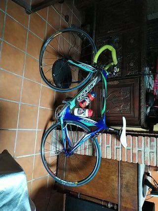 bicicleta de carretera mendiz carbono
