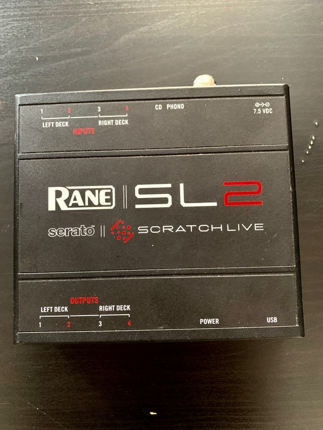 Serato Rane Scratch Live SL2
