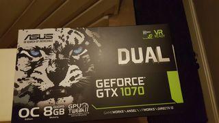 ASUS GTX 1070 DUAL 8GB VRAM