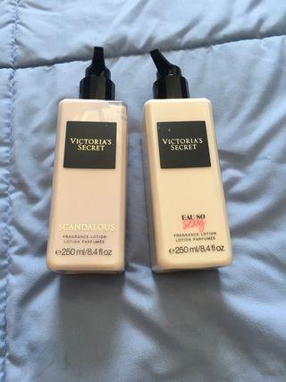 Perfume en crema de victoria secret