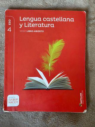 Libro Lengua Castellana y literatura Santillana