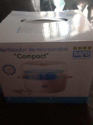 esterilizador biberones microondas