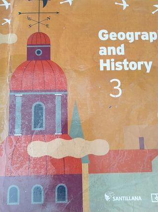 libro historia 3 eso bilingüe Santillana