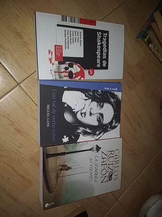 Tres libros nuevos