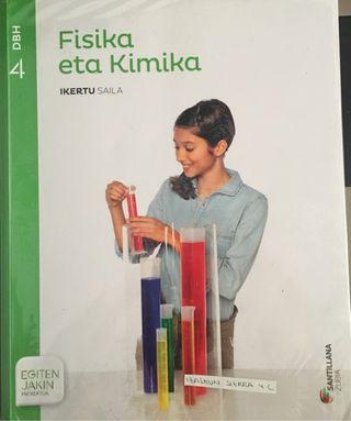 LIBRO FISIKA ETA KIMIKA 4.ESO SANTILLANA