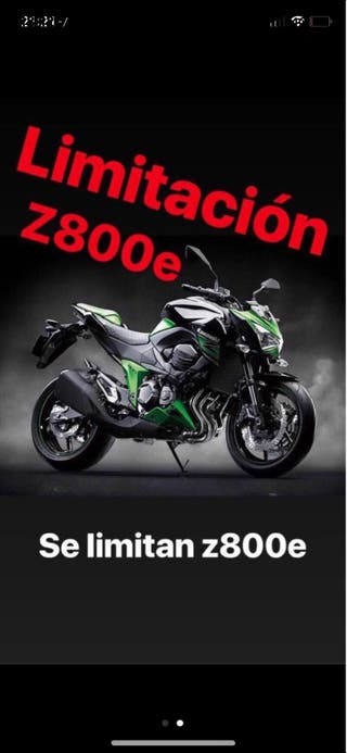 Deslimitación limitación z800 z800e