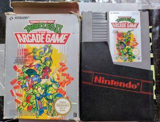 TURTLES II The Arcade Game - NINTENDO NES