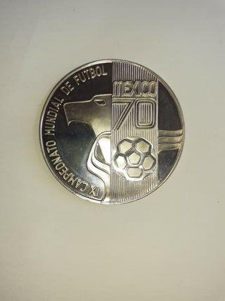 Estuche y Moneda del Mundial de Futbol 1970
