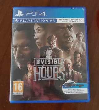 ps4 juego vr The Invisble Hours