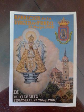 postal virgen del Prado año 88