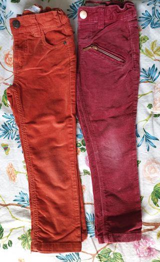 pantalones de pana