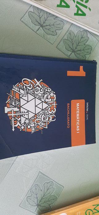 Libro de matemáticas 1°Bachillerato Ciencias