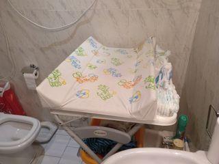 Cambiador-bañera