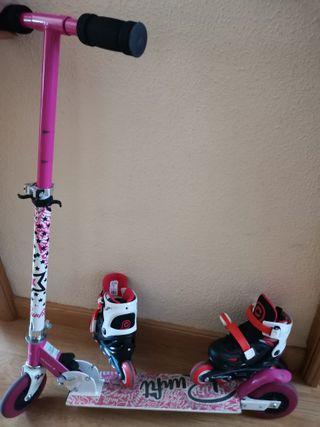 Patín y patines en linea