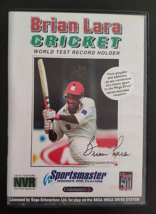 Brian Lara Cricket Sega Megadrive