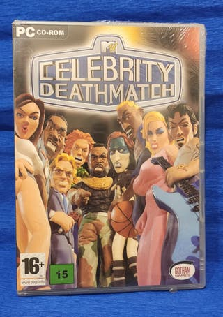 Juego pc.Celebrity Deathmatch