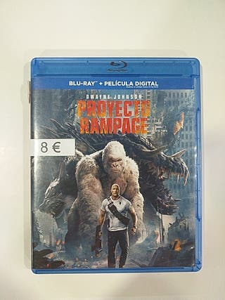 Proyecto Rampage bluray