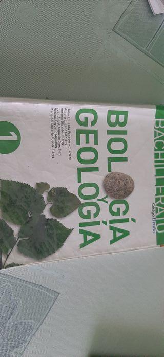 Libro de biología y geología 1°Bachillerato