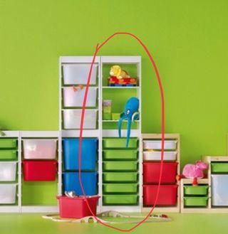 Estantería Trofast IKEA (Alta) + 4 baldas