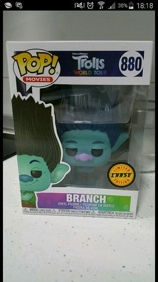 funko pop trolls branch chase
