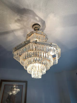 Lámpara cristal