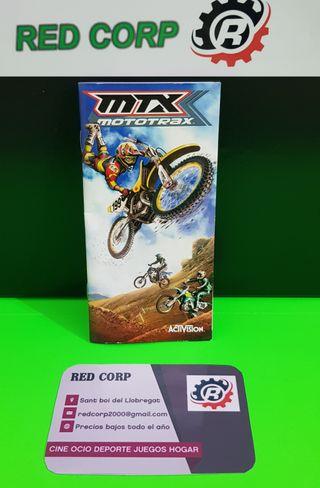 MANUAL MTX MOTOTRAX PSP