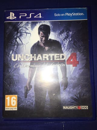 Vendo uncharted 4 ps4