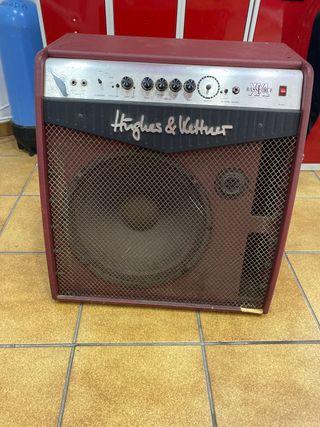 Amplificador de bajo hughes kettner 300w 50-60hz