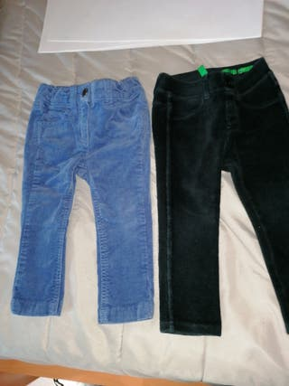 lote pantalones Benetton 12 meses