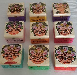 Cajas de madera Frida Kahlo