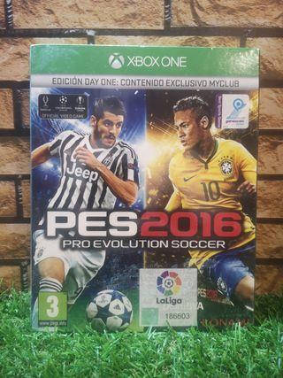 Pro Evolution Soccer 2016 Xbox One NUEVO