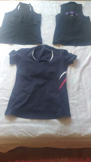 Lote camisetas naffta, nuevas