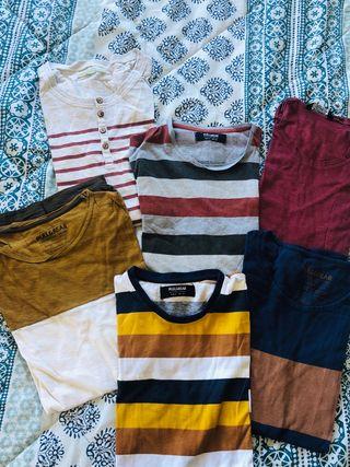 Pack camisetas Pull&Bear